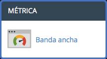 Banda ancha cPanel