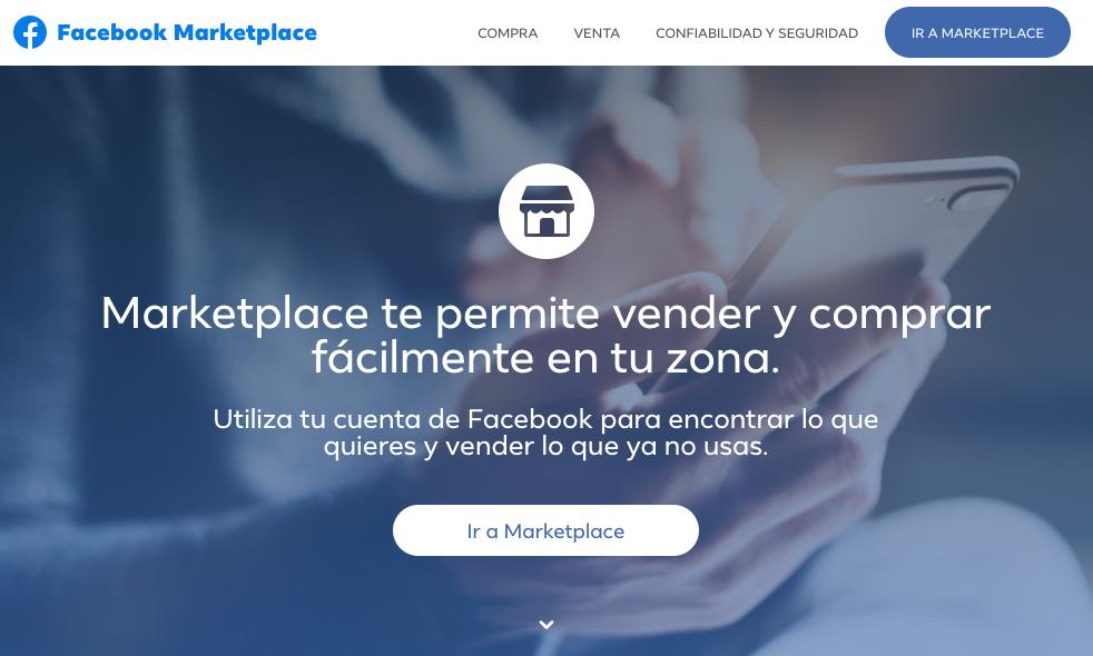 Plataformas de ventas online: Facebook Marketplace