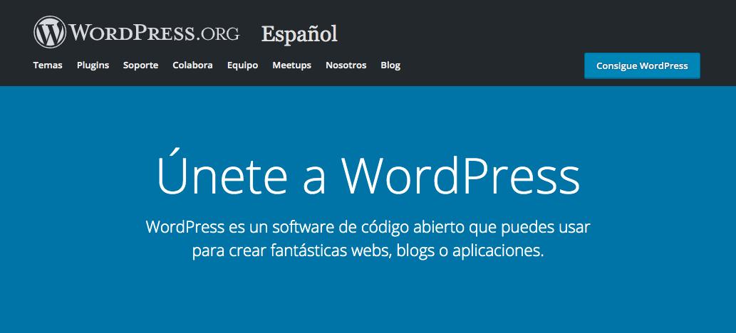 WordPress, un CMS que te ayuda a crear tu página web profesional