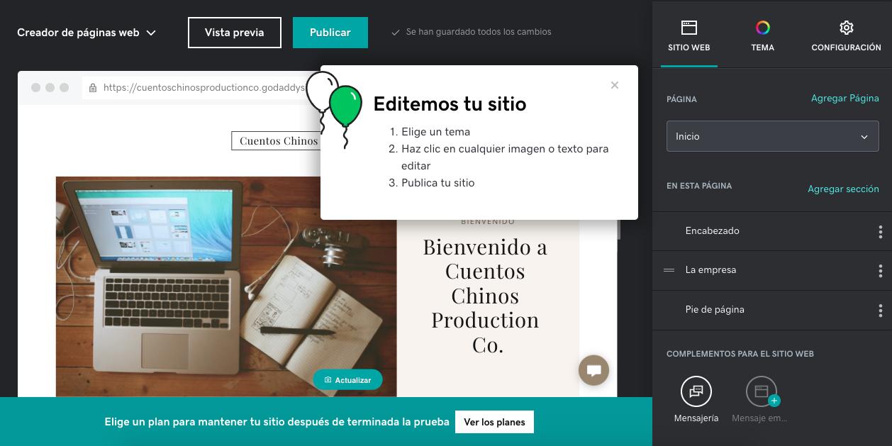 cómo hacer una página de internet: elige tu diseño