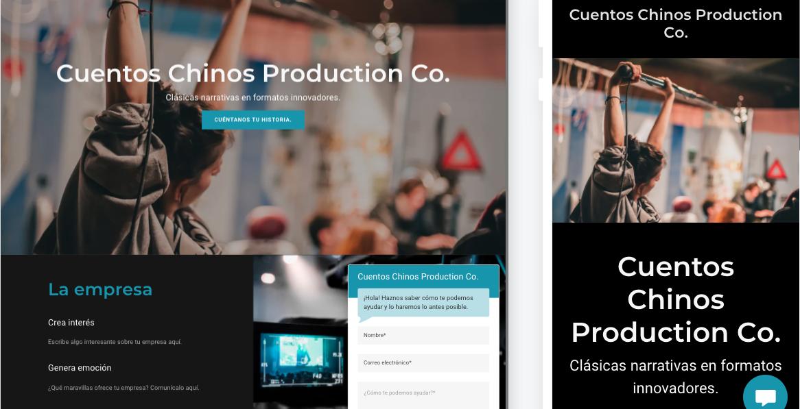 cómo hacer una página de internet: explica tu proyecto