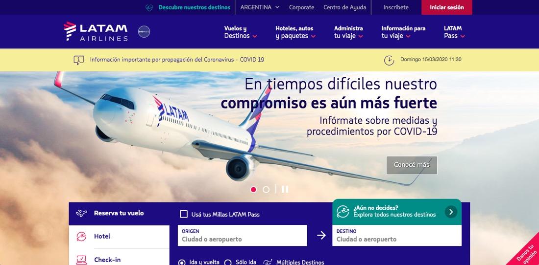 COVID-19 LATAM Airlines