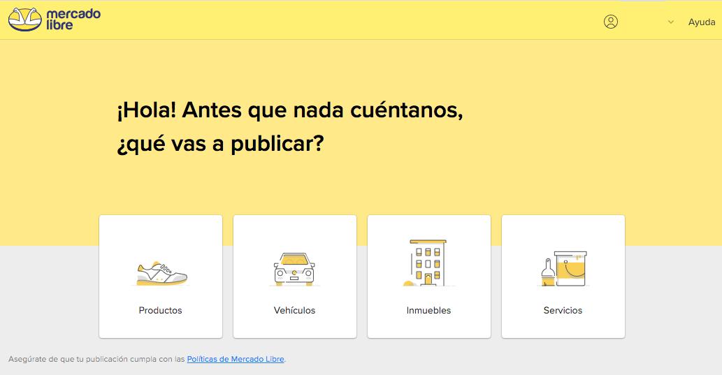 Plataformas de ventas online: Mercado Libre