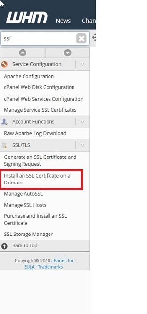 Instalar certificado SSL en un dominio