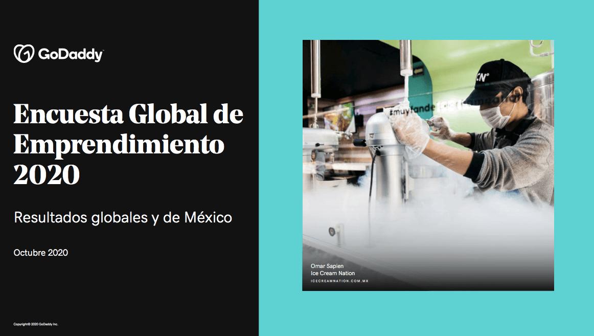 GoDaddy - Encuesta Global de Emprendimiento 2020
