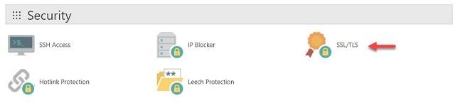 SSL/TLS en hosting de cPanel]