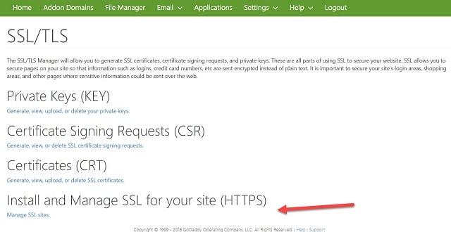 Instalar certificado SSL para tu sitio (HTTPS)