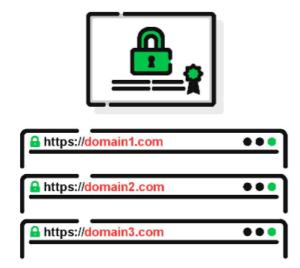 Certificado SSL SAN