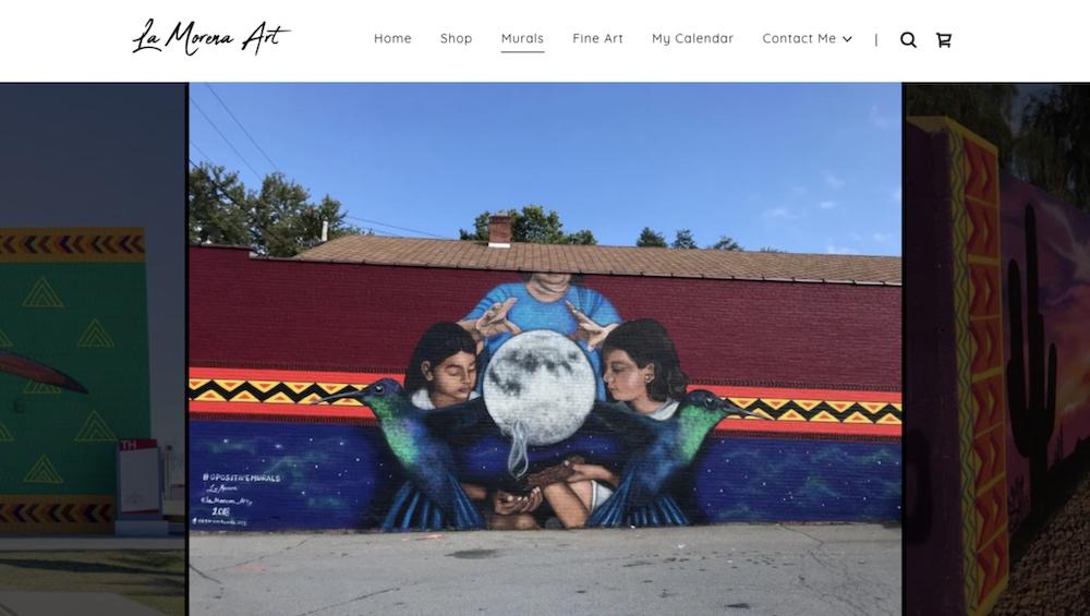 Portafolio web de La Morena Art