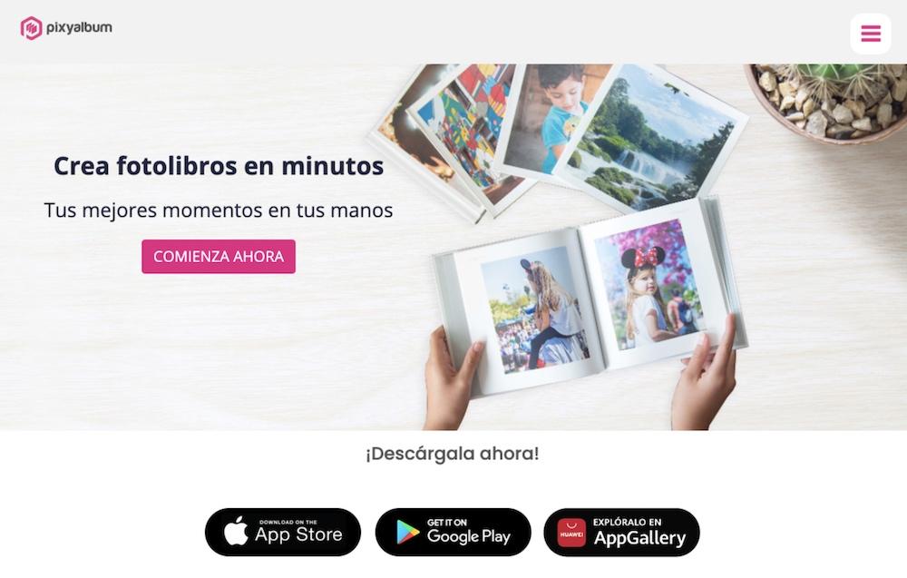 Ejemplo página web de servicios