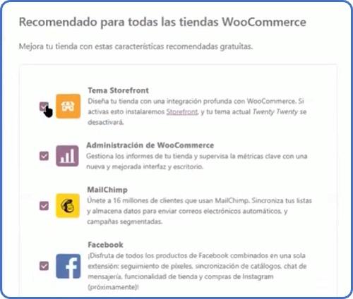 configuración de WooCommerce: plugins recomendados